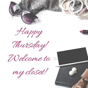 Happy Thursday! Welcome To My Closet!